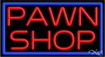 Pawn Shop Business Neon Sign