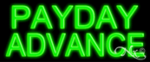 Payday Advance Economic Neon Sign