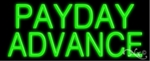 Payday Advances Neon Sign
