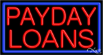 Payday Loans Business Neon Sign