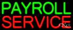 Payroll Service Business Neon Sign