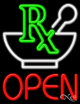 Pharmacy Open Business Neon Sign