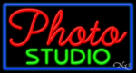Photo Studio Business Neon Sign