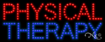 Physical Therapy LED Sign