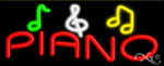 Piano Business Neon Sign