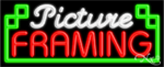 Picture Framing Business Neon Sign