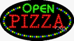 Pizza Open LED Sign