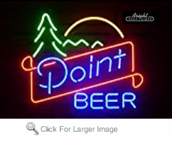 Point Beer Neon Sign