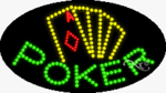 Poker LED Sign