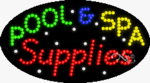 Pool & Spa Supplies LED Sign