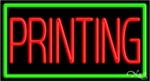 Printing Business Neon Sign