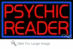Psychic Reader Business Neon Sign