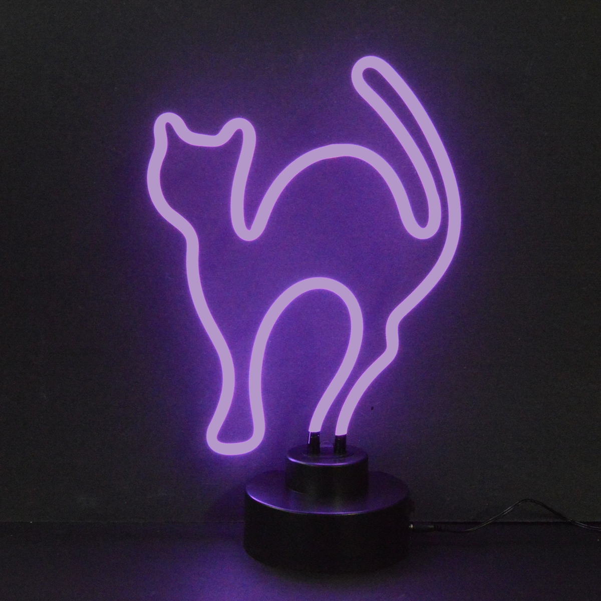 Cool Wallpaper Halloween Neon - purple-cat-neon-sculpture-3  Perfect Image Reference_197766.png