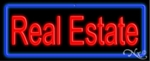 Real Estate Agent Neon Sign