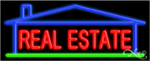 Real Estate Business Neon Sign