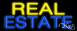Real Estate Economic Neon Sign