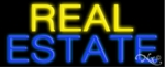 Real Estate Homes Neon Sign