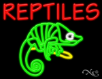 Reptiles Business Neon Sign