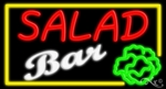 Salad Bar Neon Sign