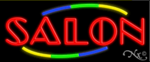 Salon Business Neon Sign