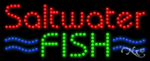 Saltwater Fish LED Sign