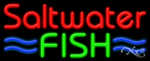 Saltwater Fish Business Neon Sign