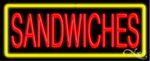 Sandwiches Business Neon Sign