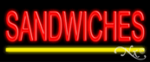 Sandwiches Economic Neon Sign