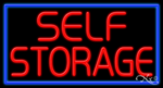 Self Storage Business Neon Sign
