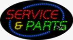 Service & Parts LED Sign