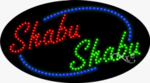 Shabu Shabu LED Sign