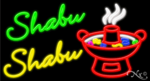 Shabu Shabu Business Neon Sign