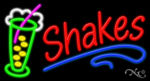 Shakes Business Neon Sign