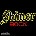 Shiner Bock Neon Beer Sign