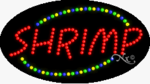 Shrimp LED Sign