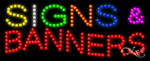 Signs & Banners LED Sign