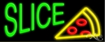 Slice Logo Neon Sign