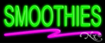 Smoothies Economic Neon Sign