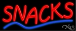 Snacks Neon Sign
