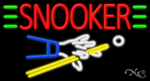 Snooker Business Neon Sign