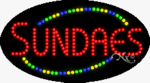 Sundaes2 LED Sign