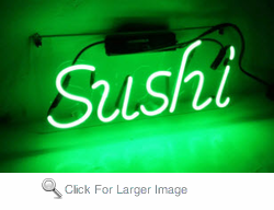 Sushi Neon Sign
