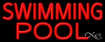 Swimming Pool Business Neon Sign