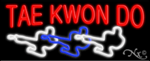 Tae Kwon Do Business Neon Sign