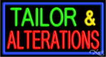 Tailor & Alteration Business Neon Sign