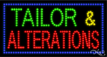 Tailor & Alterations LED Sign
