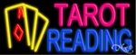 Tarot Reading Neon Sign