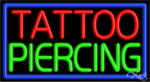 Tattoo Piercing Business Neon Sign