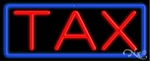 Tax Neon Sign