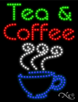 Tea & Coffee LED Sign